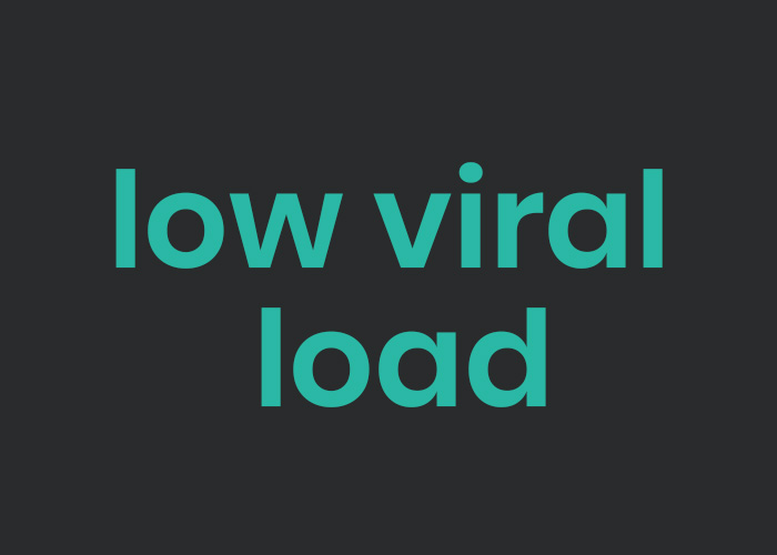 low viral load