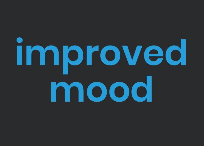 improved mood