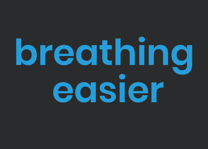 breathing easier